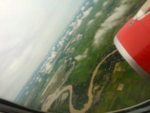Landing in Phnom Penh