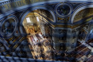 View from inside the dome