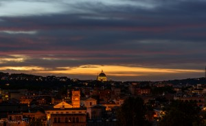 Sunset from Parco Savello