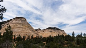 Buttes in Zion national park