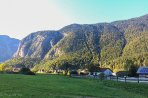 Beautiful village of Obertraun