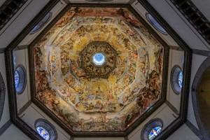 Frescos in the dome of Santa Maria del Fiore