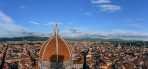 Florence skyline from Giotto's tower