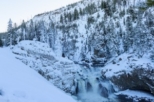 Firehole waterfall