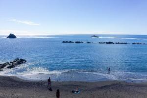 Beach at Monterosse al Mare