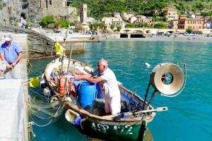 Fisherman at Monterosso