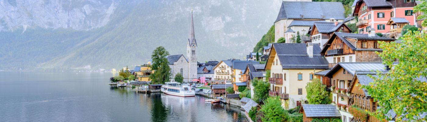 Classic shot of Hallstatt