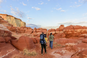 Exploring Blue Canyon with Hopi guide Micah